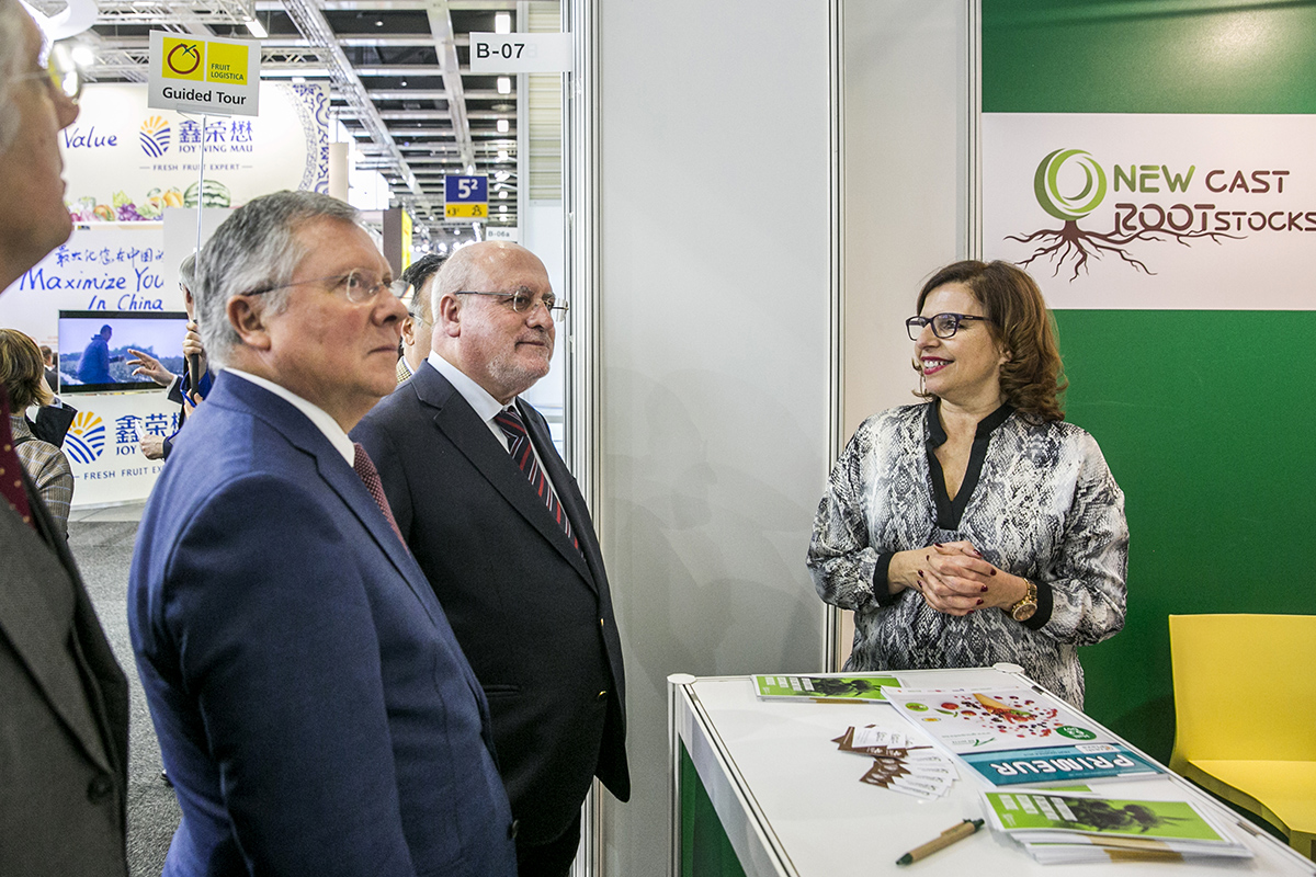 FruitLogisticaINIAV Ministro