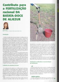 Contributo para a fertilização racional da batata-doce de Aljezur